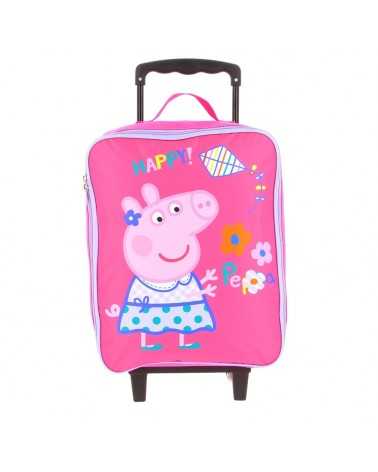Valise Peppa Pig, pliable plus facile à ranger