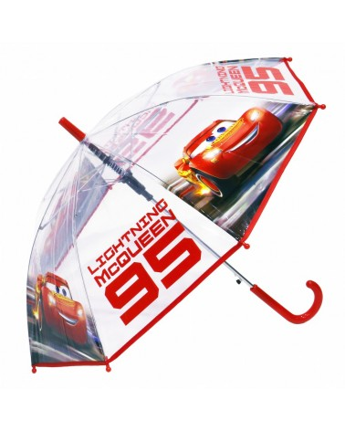 Parapluie automatique transparent Cars 3