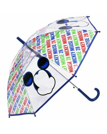Parapluie automatique transparent Mickey de Disney